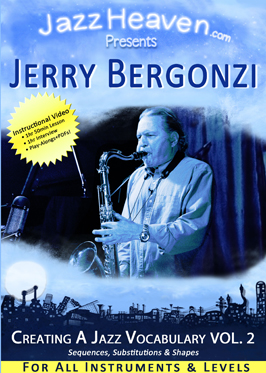 Jerry Bergonzi Creating a Jazz Vocabulary Volume 2