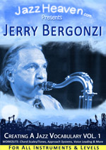 How to Play Jazz Lesson Jerry Bergonzi