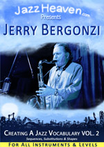 Jazz Improvisation Lesson Jerry Bergonzi